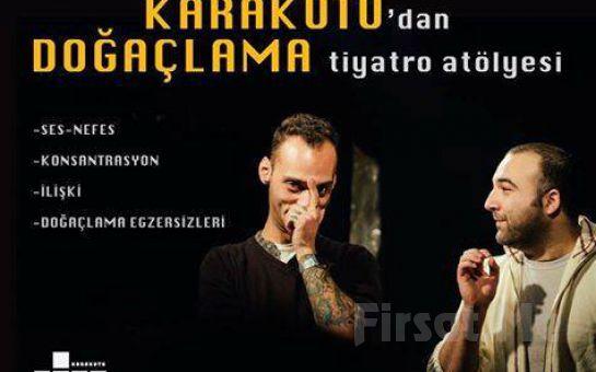 Beyoğlu Karakutu Tiyatro'dan Hayatınıza Yön Verecek 1 aylık Doğaçlama Tiyatro Atölyesi