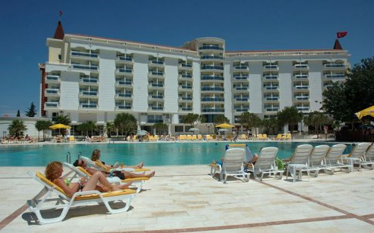 Deniz, Kum, Güneş Eşliğinde Didim Garden Of Sun Hotel'de Herşey Dahil Kişibaşı Tatil Fırsatı!