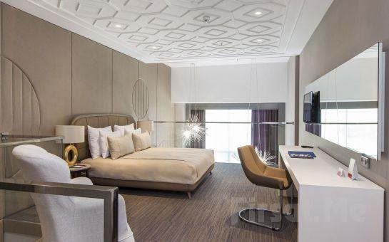 Ramada Hotel Suites İzmir Kemalpaşa'da 2 Kişi 1 Gece Konaklama Keyfi Kahvaltı Seçeneğiyle