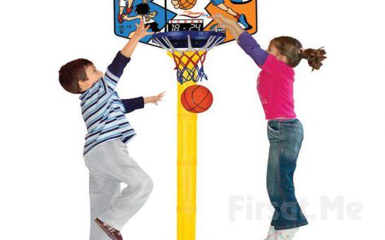 Çocuklarınızı Sporla Daha Erken Yaşta Tanıştırma İmkanı ! Ayarlanabilir Ayaklı Basketbol Potası!