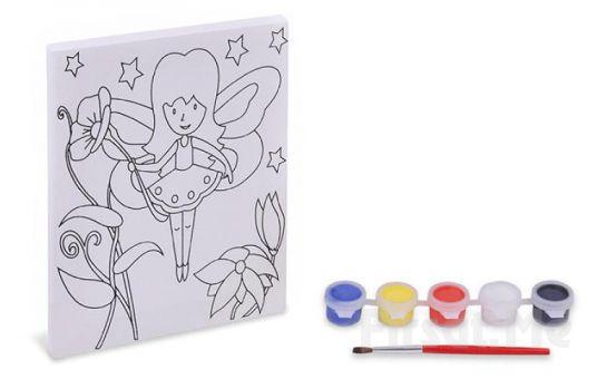Kendinize Yeni Bir Hobi Edinme Şansı! 4 Farklı Şekil İle Canvas Tablo Boyama Seti!