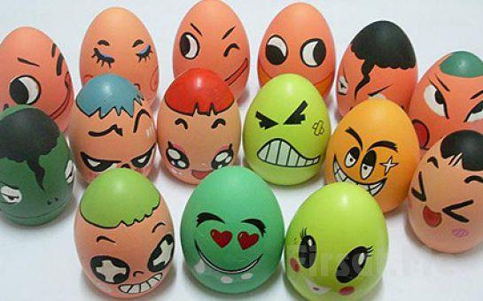 Çocuklarınızla Birlikte Kullanabileceğiniz Yumurta Boyama Seti