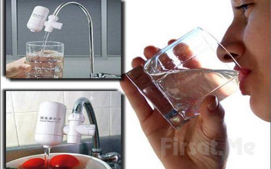 Sağlığınızdan Ödün Vermeyin! Nano Porselen Su Filtresi İle Tertemiz Su İçme Keyfi!