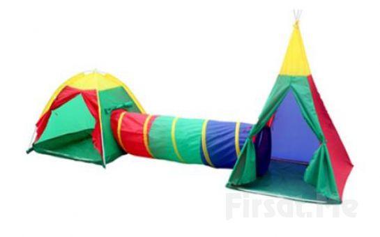 Çocukların İhtiyacı Olan Oyunları Rahatlıkla Oynayabileceği Oyun Çadırı