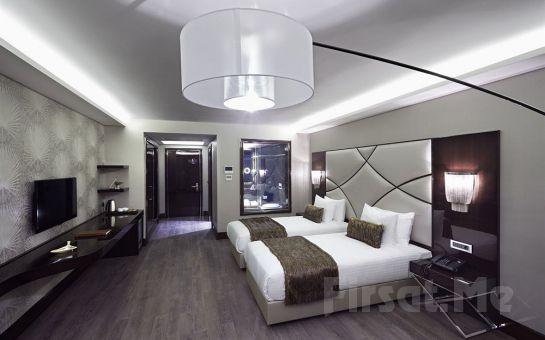 Konforun Adresi Biz Cevahir Hotel Şişli'de 2 Kişi 1 Gece Konaklama ve Kahvaltı Keyfi!