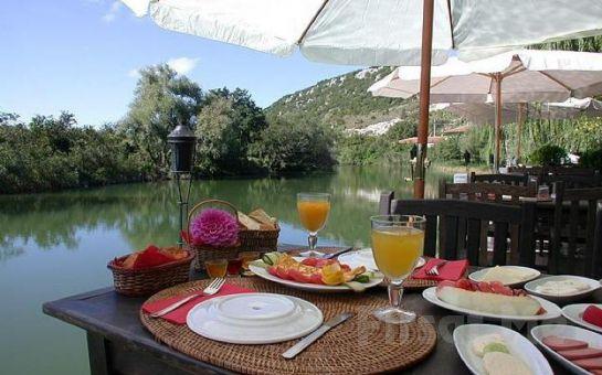 Göksu Nehri Kenarında Ağva El Rio Motel'de Mangal veya Balık Menü!