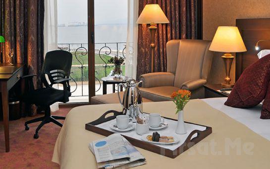 5 Yıldızlı Wellborn Luxury Hotel'de Şeker Bayramın'da 2 Kişi 1 Gece Deluxe Odada Konaklama, Açık Büfe Kahvaltı, SPA Kullanımı, Akşam Yemeği Seçeneğiyle