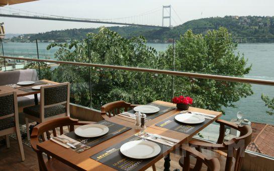 Rumeli Hisarı Seyir Terrace Restaurant'ta Muhteşem Boğaz Manzarası Eşliğinde Leziz İftar Yemeği Fırsatı!