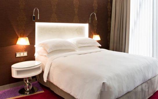 Maltepe Burgu Arjaan by Rotana Hotel'in Modern ve Şık Studio Odalarında 2 Kişi 1 Gece Konaklama ve Kahvaltı Seçenekleri