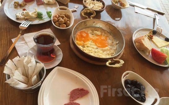 Gölbaşı Club Bonjour'da 15 Çeşitten Oluşan Serpme Kahvaltı Keyfi