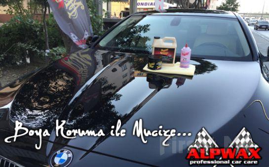 Avcılar ALPWAX Oto Kuaför'de Meguiar's Ürünleri İle Boya Koruma Uygulaması