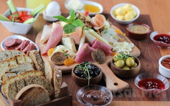 Boğaz Manzaralı Üsküdar Askadar Restaurant'ta 2 Kişilik Kütük Kahvaltı Keyfi!
