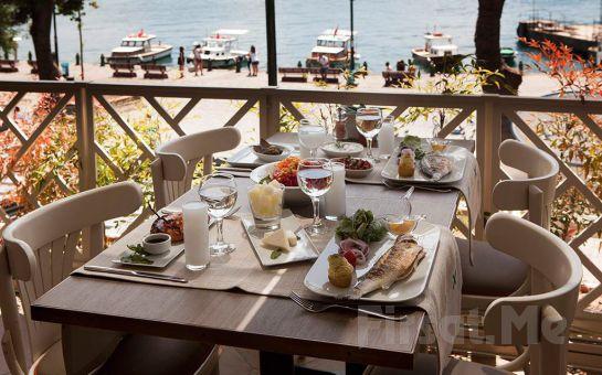 Ortaköy My Deniz Restaurant'ta Boğaz'ın Enfes Güzelliği ile Birlikte İçki Dahil Leziz Akşam Yemeği! (Ücretsiz Vale!)