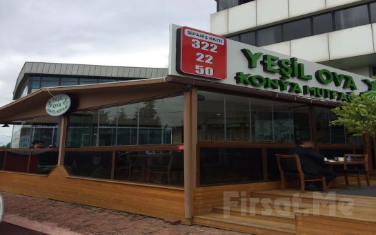 Kavacık Yeşil Ova Konya Mutfağı'nda Sınırsız Çay Eşliğinde Leziz Kahvaltı Tabağı veya Serpme Kahvaltı Keyfi