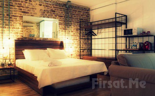 İstanbul'un Merkezinde Karaköy Aparts Hotel'de 2 Kişi 1 Gece Konaklama + Kahvaltı Keyfi!