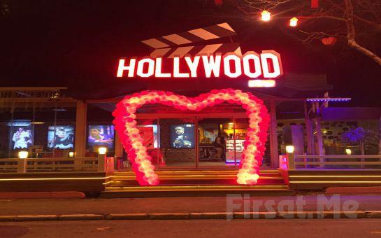 Üsküdar Cafe Hollywood City'de 14 Şubat Sevgililer Gününe Özel Keman Eşliğinde Romantik Akşam Yemeği!