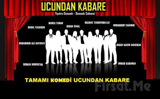 1001 Sanat'tan UCUNDAN KABARE Ustalara saygı skeçleri Tiyatro Oyunu