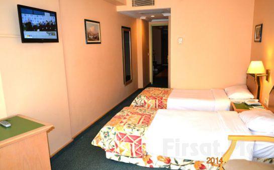 İstanbulun Kalbi Sultanahmet Seres Otel'de 2 Kişi 1 Gece Konaklama ve Kahvaltı Keyfi!