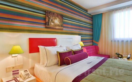 5 *'lı Qua Hotel Atatürk Airport Bağcılar'da 2 Kişi 1 Gece Konaklama Keyfi, Kahvaltı Seçeneğiyle! (Yüz Maskesi Hediye!)