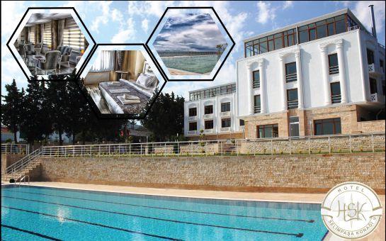 Silivri Selimpaşa Konağı Hotel'de Konaklama + Kahvaltı Keyfi!