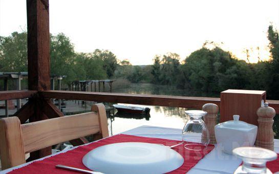 Nehir Manzaralı Ağva Vira Creek House Hotel'de Serpme Kahvaltı Keyfi!
