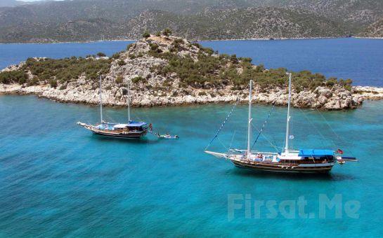 Gümbet İskeleden Hareketle Tam Gün Yemekli Bodrum Tekne Turu Fırsat Seçenekleri!