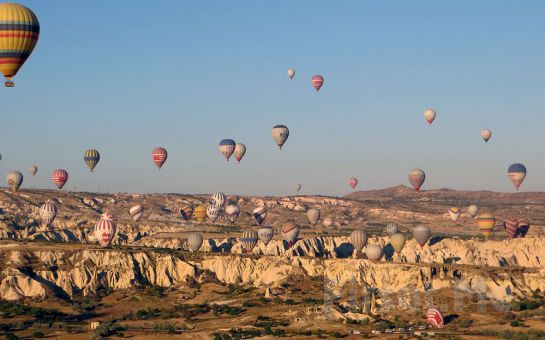 5 Yıldızlı Ürgüp Perissia Hotel'de Konaklama, Kahvaltı, Akşam Yemeği, Açık ve Kapalı Havuz Kullanımı, Kapadokya Balon Turu!