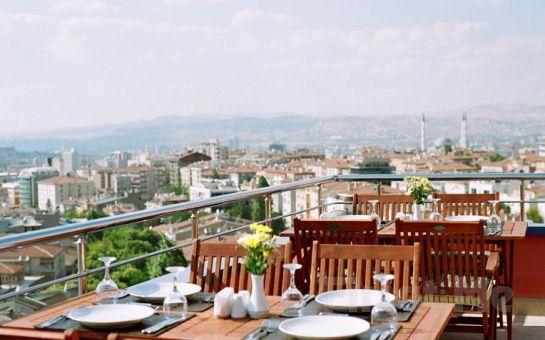 Ankara Tüfad Prestige Hotel'in Teras Restaurantında Birbirinden Özel İftar Menü Seçenekleri