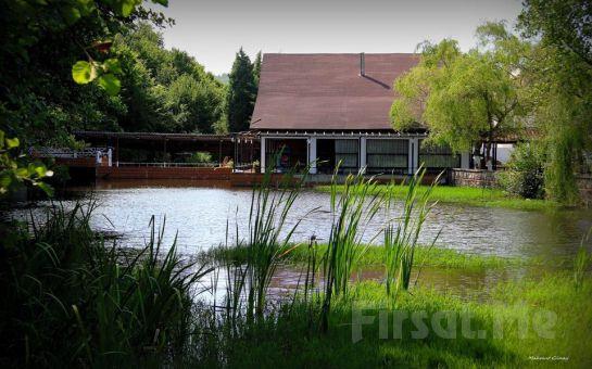 Şile Yeşil Göl Restaurant'ta Göl Kenarında Leziz Serpme Köy Kahvaltısı ve Deniz Bisikleti Keyfi