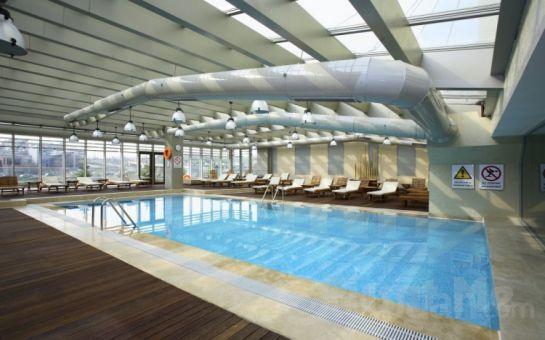 5 Yıldızlı Holiday Inn İstanbul Airport Mandala Spa'da Havuz ve Teras Keyfi, Masaj, Kahvaltı, Yemek Seçenekleri