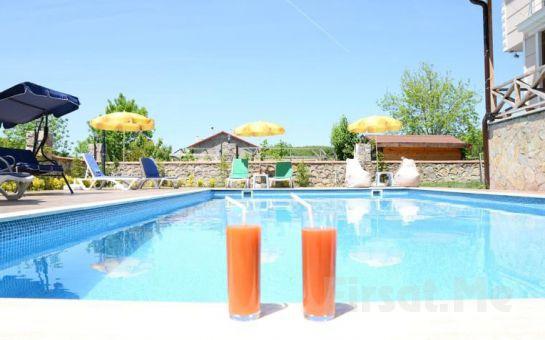 Doğanın Kalbi Ağva Asmalı Garden Butik Hotel'de Açık Büfe Kahvaltı ve Havuz Keyfi