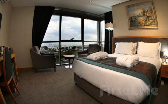 Ataköy Le Marde Otel Şehir veya Deniz Manzaralı Odalarda 2 Kişi 1 Gece Konaklama ve Kahvaltı Keyfi!