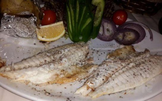 Tarihi Semtte Sultanahmet Fuego Restaurant'ta İçki Dahil Balık veya Leziz Yemek Menüleri!
