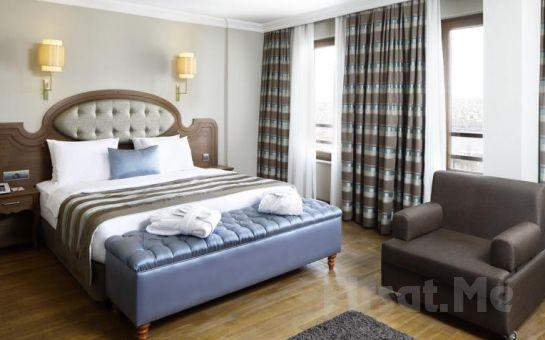 Grand Hotel Haliç'de 2 Kişi 1 Gece Konaklama Keyfi Kahvaltı Seçeneğiyle