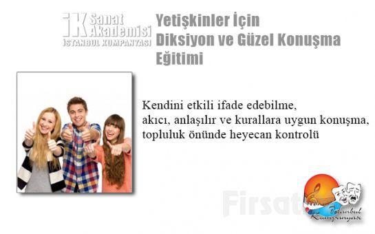 İstanbul Kumpanya'sından Yetişkinler İçin Diksiyon ve Güzel Konuşma Eğitimi!