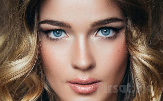 Kadıköy AB Make Up Studio'da Pudralama veya 3D Kıl Tekniği ile Kaş Kontürü, Eyeliner Uygulaması veya Dudak Kontürü!