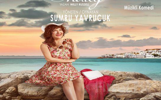 """Sumru Yavrucuk'tan Tek Kişilik """"SHIRLEY"""" Tiyatro Oyunu Bileti!"""