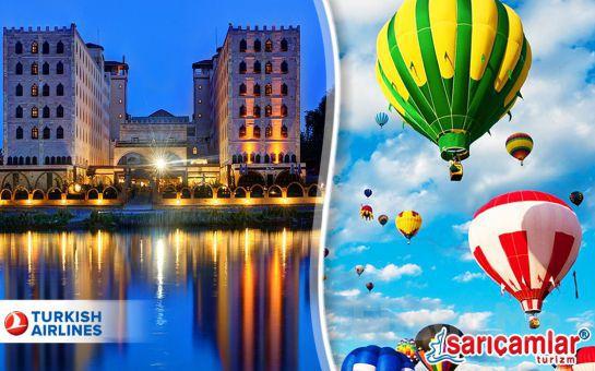 Kapadokya 5* Sühan Otel Konaklamalı, Balon Turu, Gidiş - Dönüş Uçak Bileti Dahil HAPPY NEW YEAR CAPPADOCIA YILBAŞI GALA PROGRAMI!