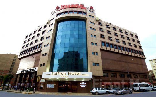 Eskişehir Saffron Otel'de 1 Gece Konaklama ve Kahvaltı Keyfi