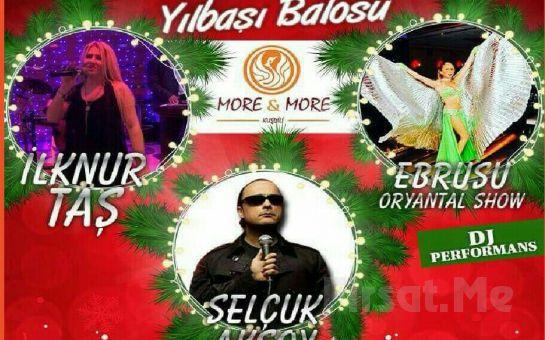 Kadıköy More & More Meyhanesi'nde Fasl-ı Şahane ve Canlı Müzik Eşliğinde Yılbaşı Balosu!