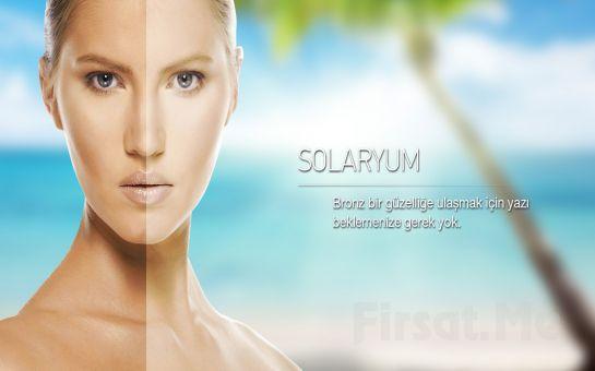 Bağdat Caddesi NCITY Güzellik Merkezi'nde 150 Dakikalık Solaryum Fırsatı!