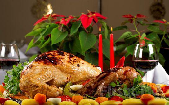 Yılbaşı Yemeğinizi Elde Balık Restaurant Hazırlıyor Eve Sipariş Evde Yılbaşı Hindi Tepsisi