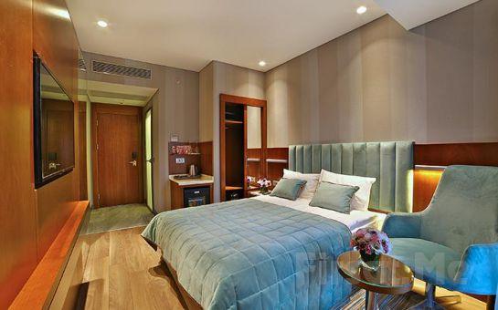 The Tango Hotel Şişli'de 2 Kişi 1 Gece Konaklama ve Kahvaltı Keyfi