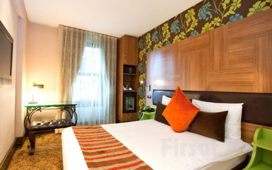 Konak Hotel Harbiye'de 2 Kişi 1 Gece Konaklama ve Kahvaltı Keyfi
