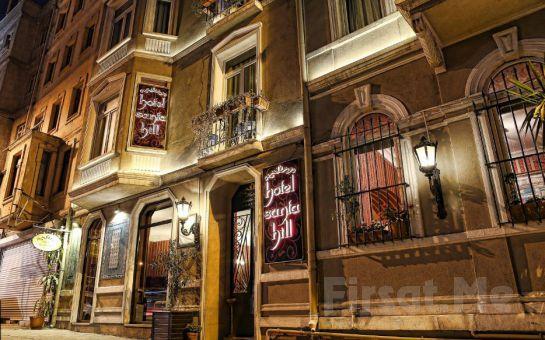 İstanbul'un Kalbi Beyoğlu Santa Hill Hotel'de Konaklama Fırsatı