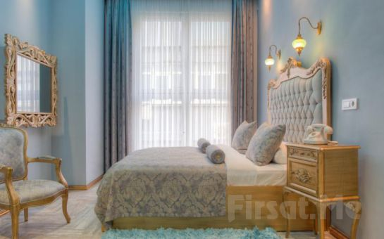 Art Deco Suites'in Jakuzili Comfort Suit Odalarında 2 Kişi 1 Gece Konaklama Ve Kahvaltı Keyfi! (Sevgililer Günü Gala Yemeği Dahil Seçenekleri!)