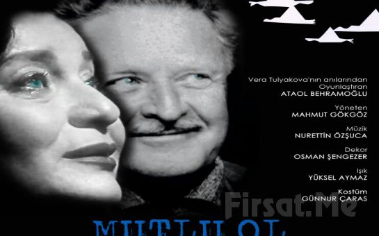 """Dilek Türker'in Oyunculuğu ile Ataol Behramoğlu'nun Kaleme Aldığı """"MUTLU OL NAZIM"""" Adlı Tiyatro Oyun Biletleri!"""