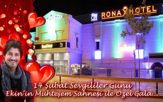 Kumburgaz Ronax Hotel'de Ekin'in Muhteşem Sahnesiyle Sevgililer Gününe Özel Konaklama ve Gala Eğlencesi!