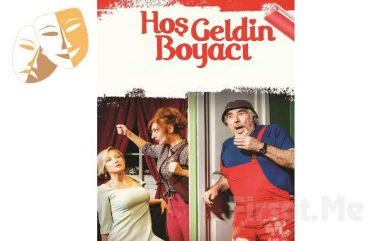 Erdal Özyağcılar, Berna Laçin ve Gözde Çetiner'le Hoşgeldin Boyacı Tiyatro Oyun Biletleri