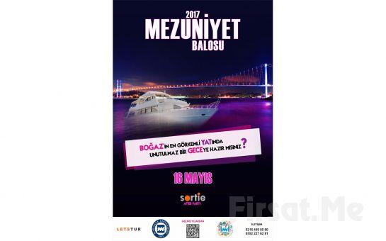 Let's Tur'dan Boğaz'ın En Görkemli Yatında Mezuniyet Partisi